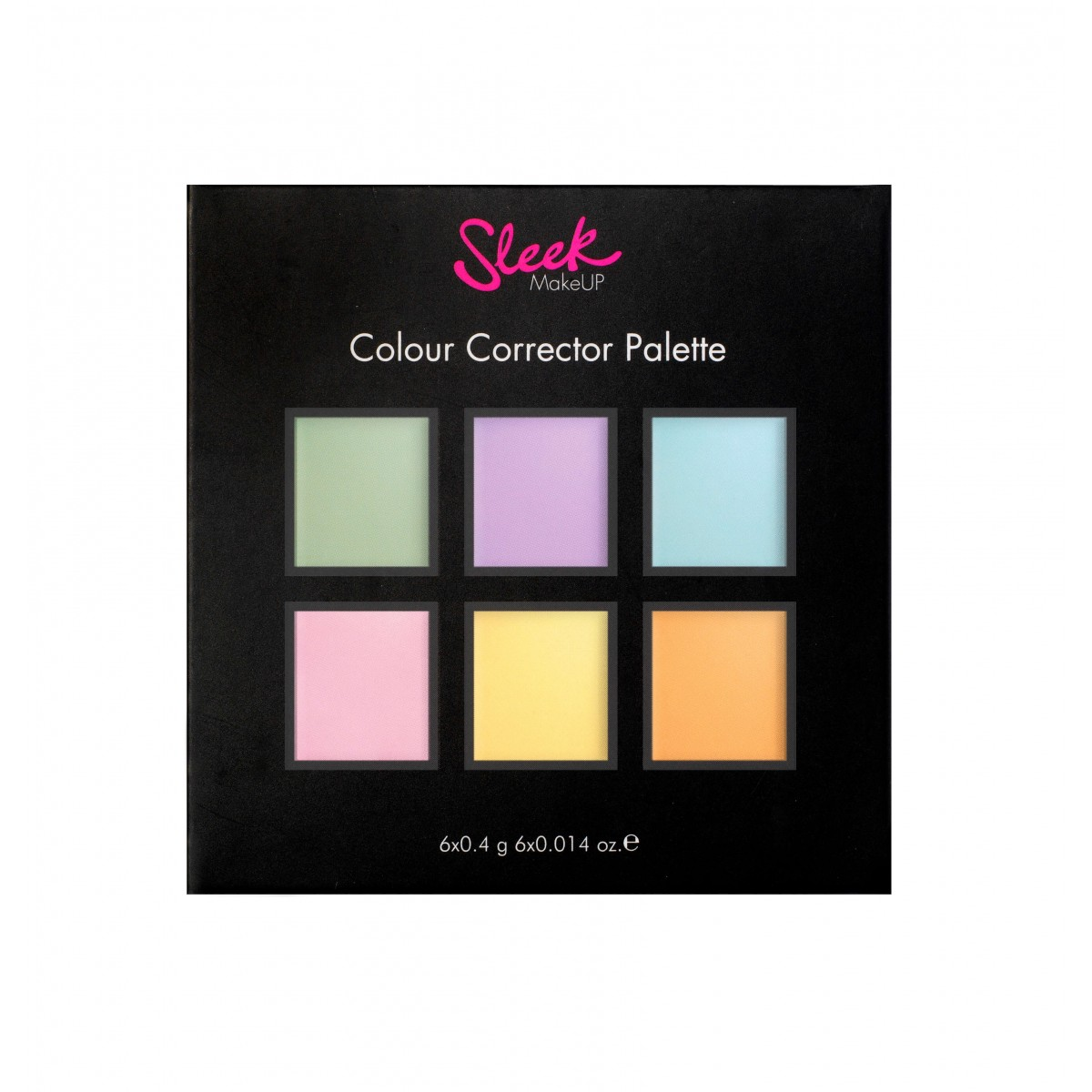 Colorful makeup palette