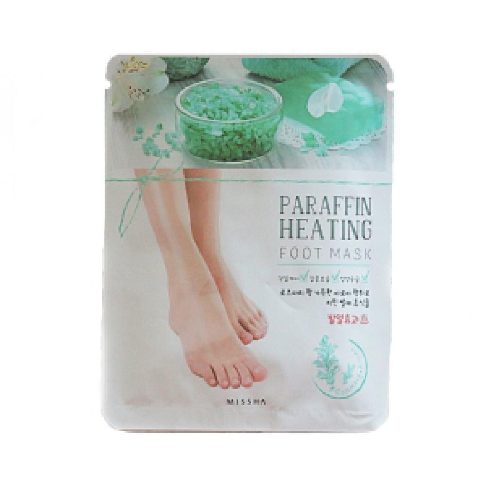 Купить Парафиновая маска для ног - MISSHA Paraffin Heating Foot Mask