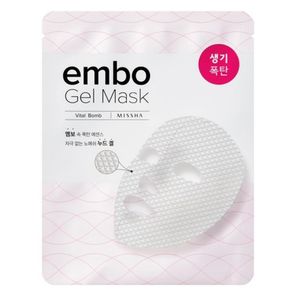 Купить Витаминная маска для лица MISSHA Embo Gel Mask (Vital-Bomb)