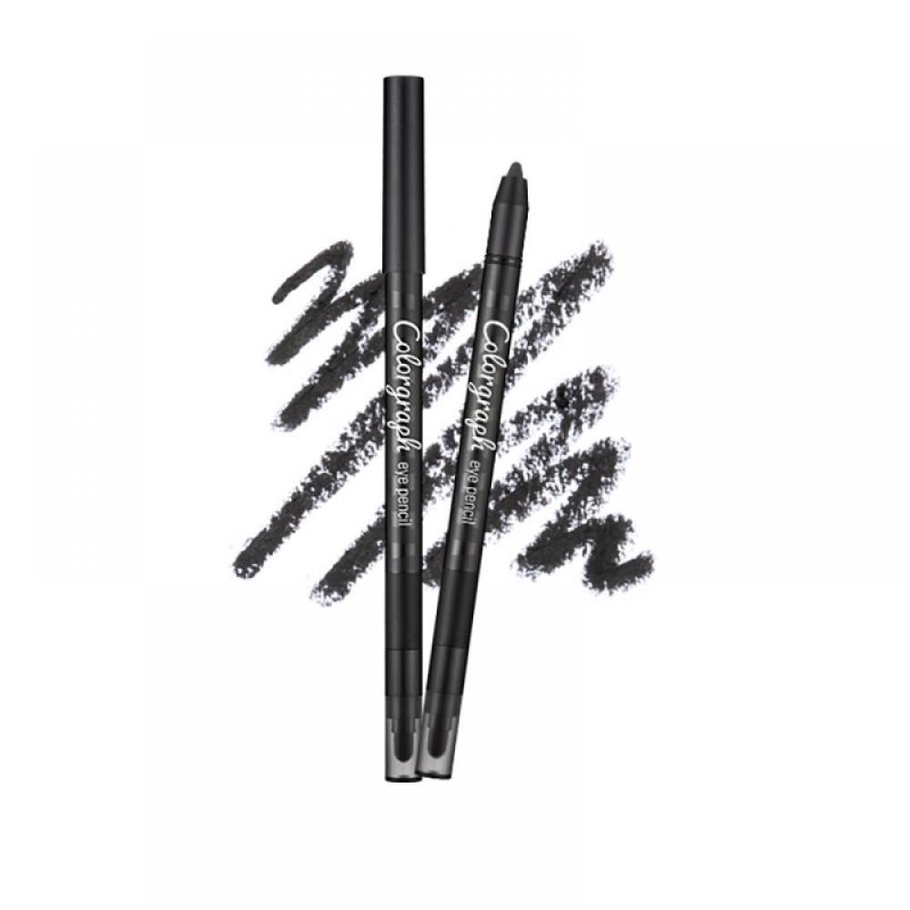 Купить Водостойкий карандаш для глаз MISSHA Colorgraph Eye Pencil (Mr. Black)