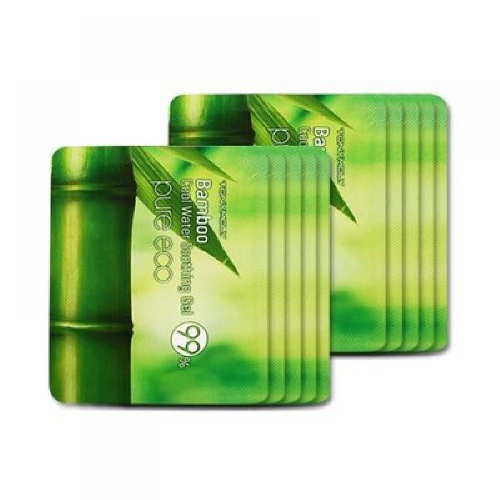 Купить Пробник. Успокаивающий гель с бамбуком 99% - Tony Moly Cool Water Soothing Gel (4g)