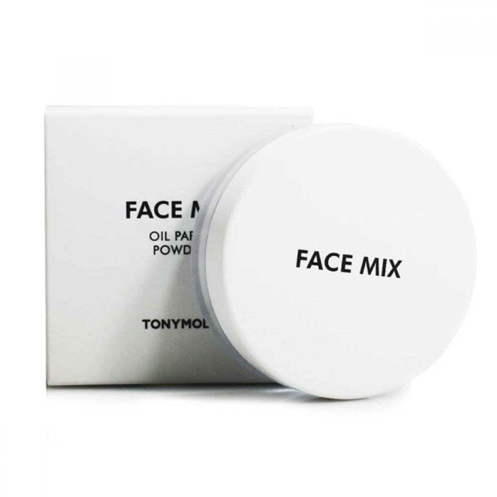 Купить Рассыпчатая прозрачная матирующая пудра  FACE MIX OIL PAPER POWDER2 Tony Moly