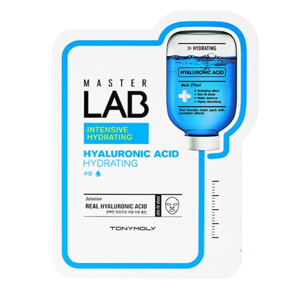 Купить Тканевая маска с гиалуроновой кислотой - Tony Moly TONYMOLY MASTER LAB HYALURONIC ACID MASK