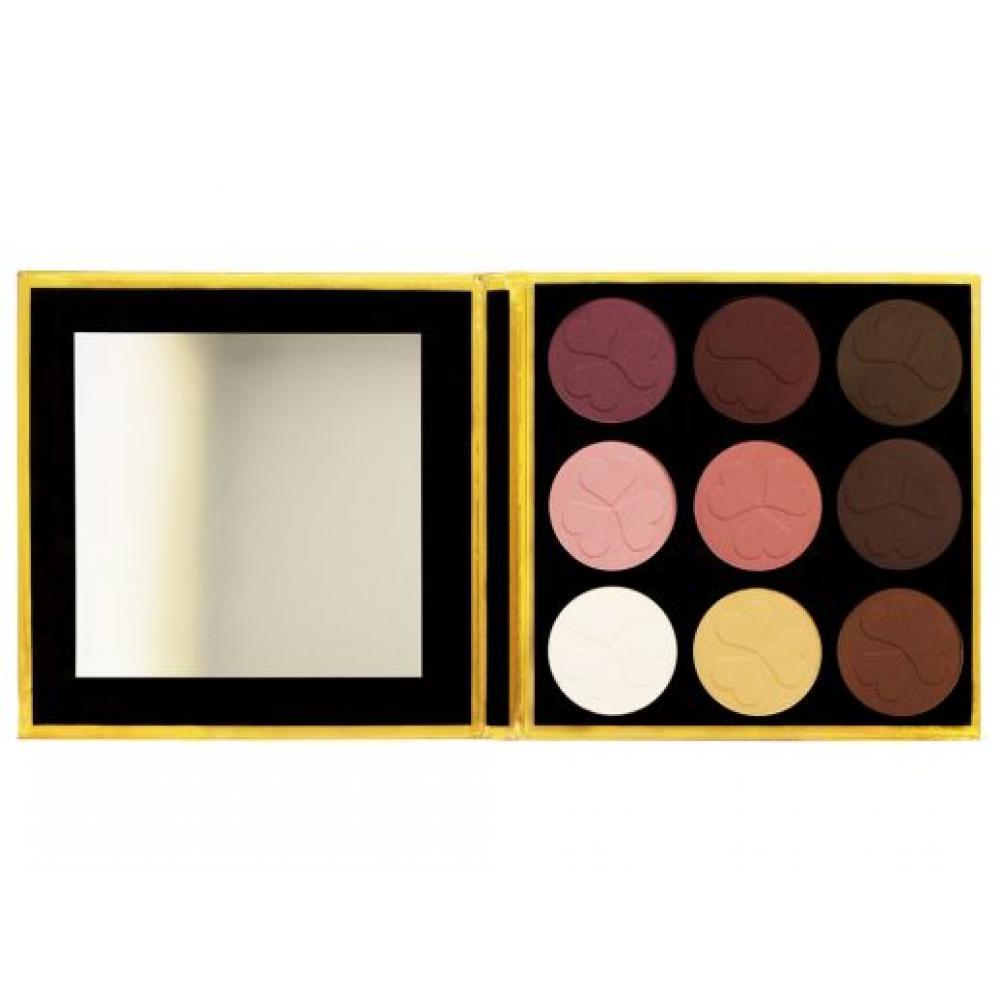Купить Палитра матовых теней 9 оттенков makeup Me T9-2