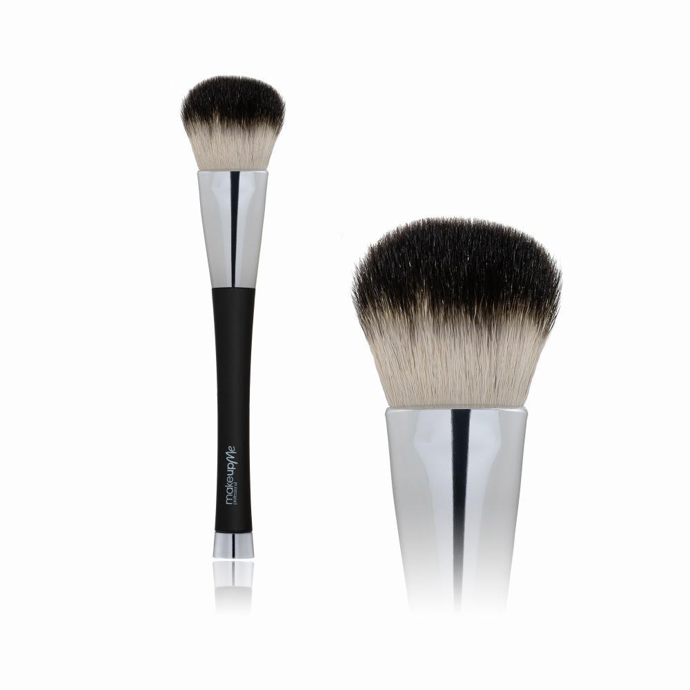 Купить Кисть для сухих текстур Make Up me ( натуральный ворс - коза)