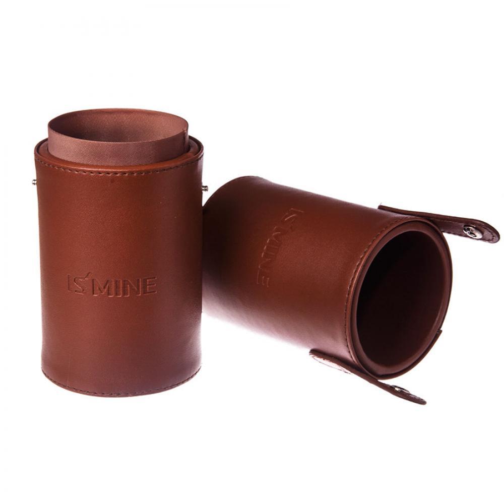 Купить Тубус для хранения кистей - Make Up Me TUBE-Brown Коричневый