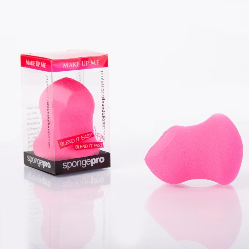 Купить Профессиональный спонж для макияжа - Make Up Me SpongePro SP-4M Малиновый