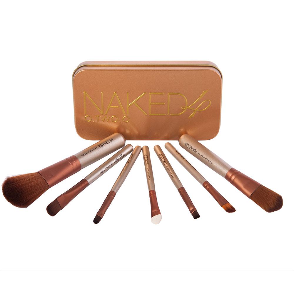 Купить Набор кистей для макияжа 7 шт - Make Up Me Urban Decay Naked 4 (реплика) NK-4