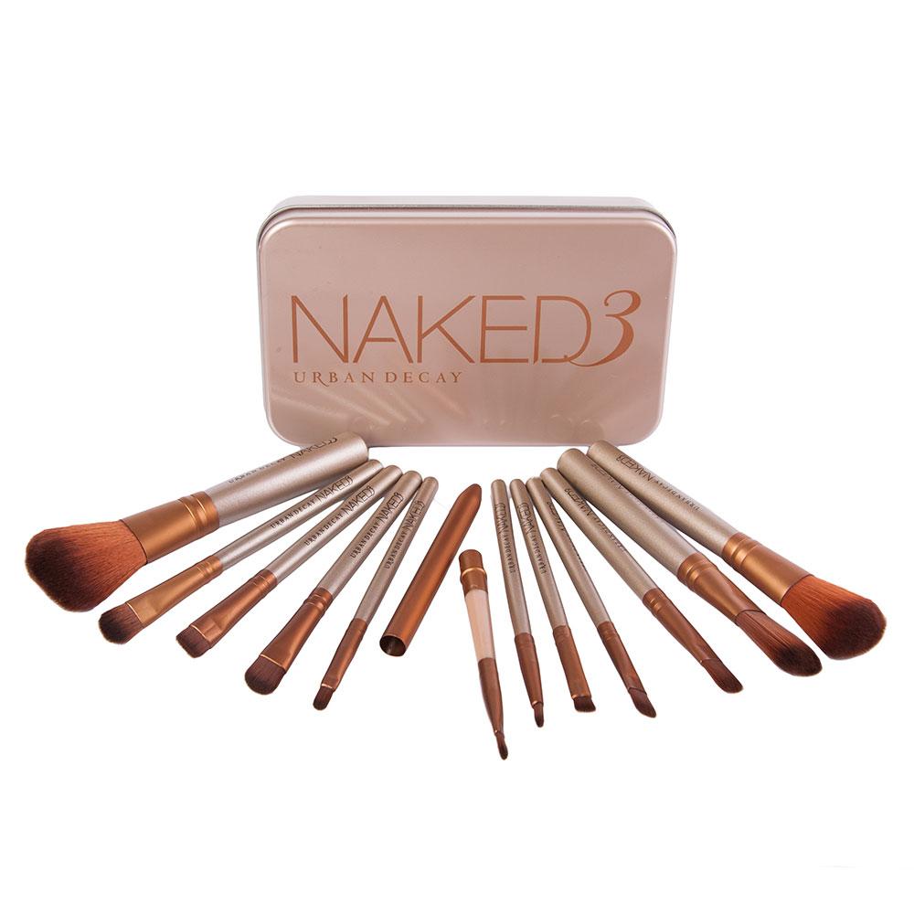 Купить Набор кистей для макияжа 12 шт - Make Up Me Urban Decay Naked (реплика) NK3