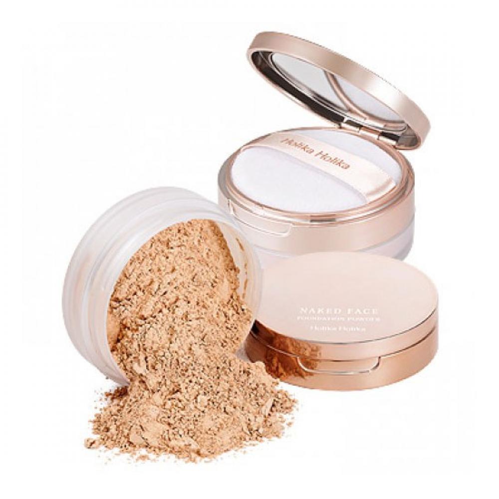 Купить Рассыпчатая пудра - Holika Holika Naked Face Foundation Powder