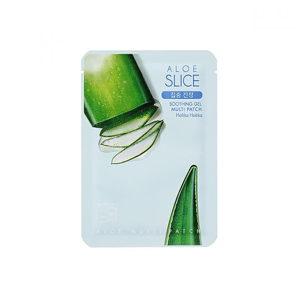 Купить Универсальная маска-патч с алоэ - Holika Holika Aloe Soothing Gel Multipatch