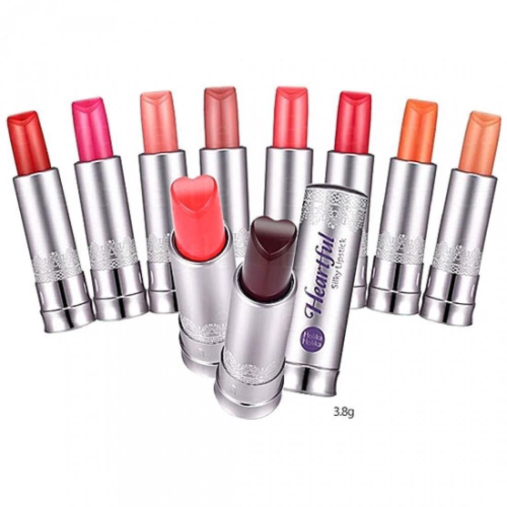 Купить Шелковая губная помада Holika Holika Heartfull Silky Lipstick