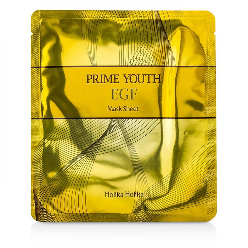 Купить Омолаживающая маска - Holika Holika  Prime Youth  E.G.F Mask Sheet