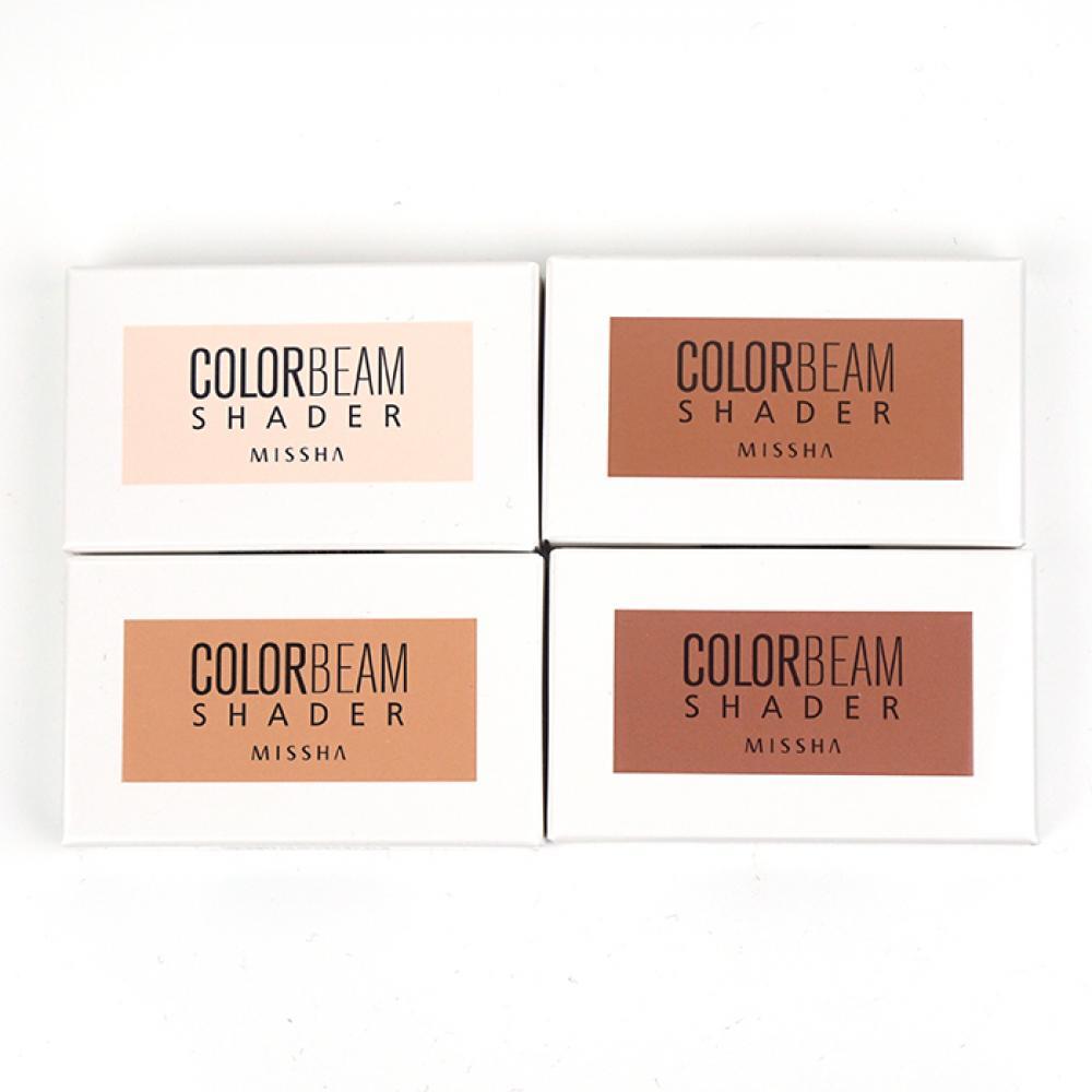Купить Румяна для скульптурирования лица - MISSHA Color Beam Shader