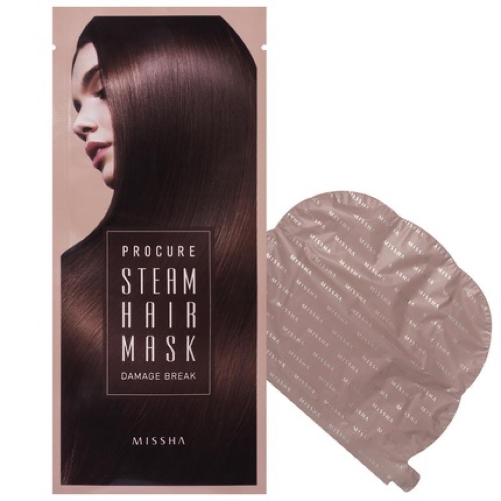 Купить Маска для волос - MISSHA Procure Damage Break Steam Hair Mask