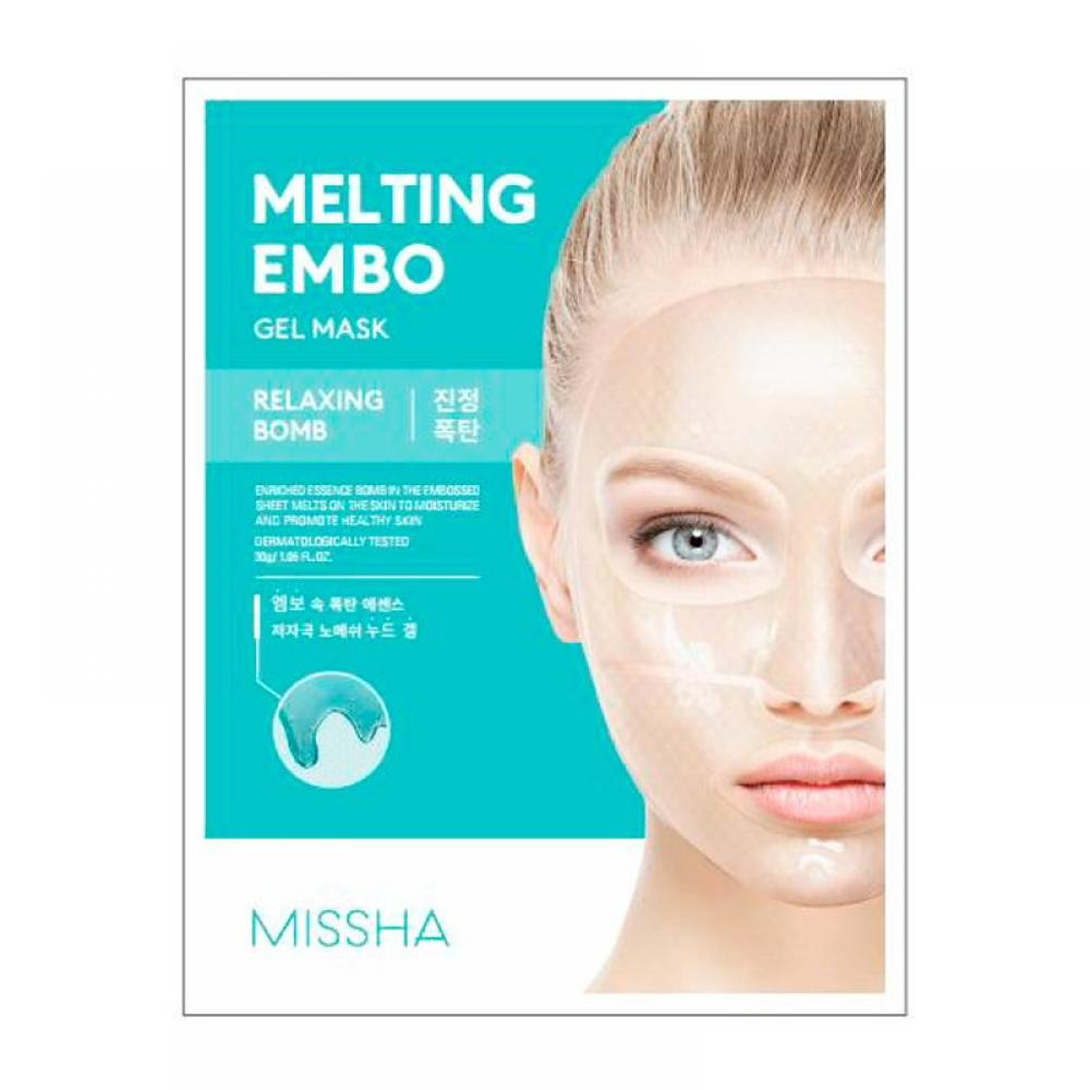 Купить Увлажняющая антивозрастная маска Missha Melting Embo Gel Mask (Waterful-Bomb)