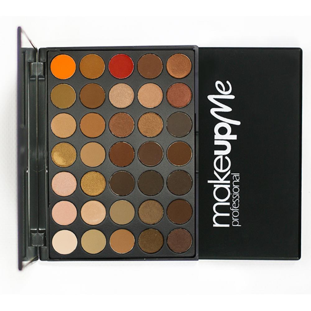 Купить Палитра теней 35 оттенков - Make Up Me B35