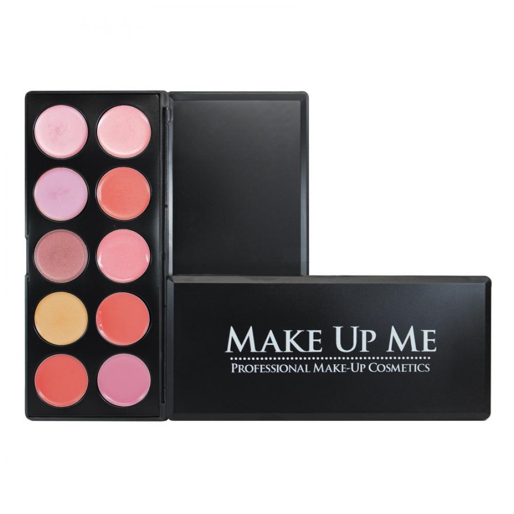 Купить Профессиональная палитра помад для губ 10 цветов Make Up Me L10-3