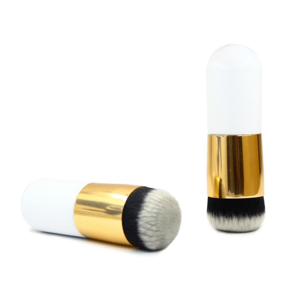 Купить Синтетическая кисть-кабуки с плотным ворсом - Make Up Me SGW-11