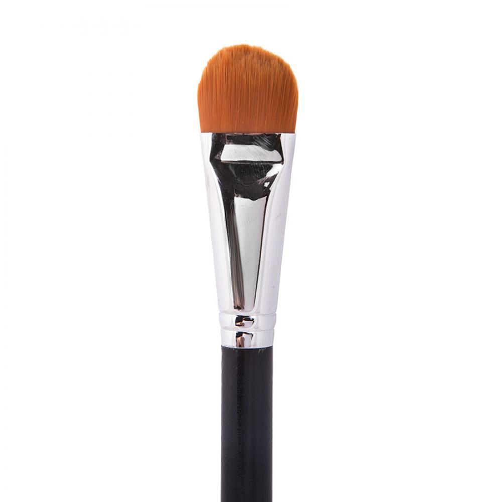Купить Профессиональная кисть для нанесения тональных основ и масок - Make Up Me M-1