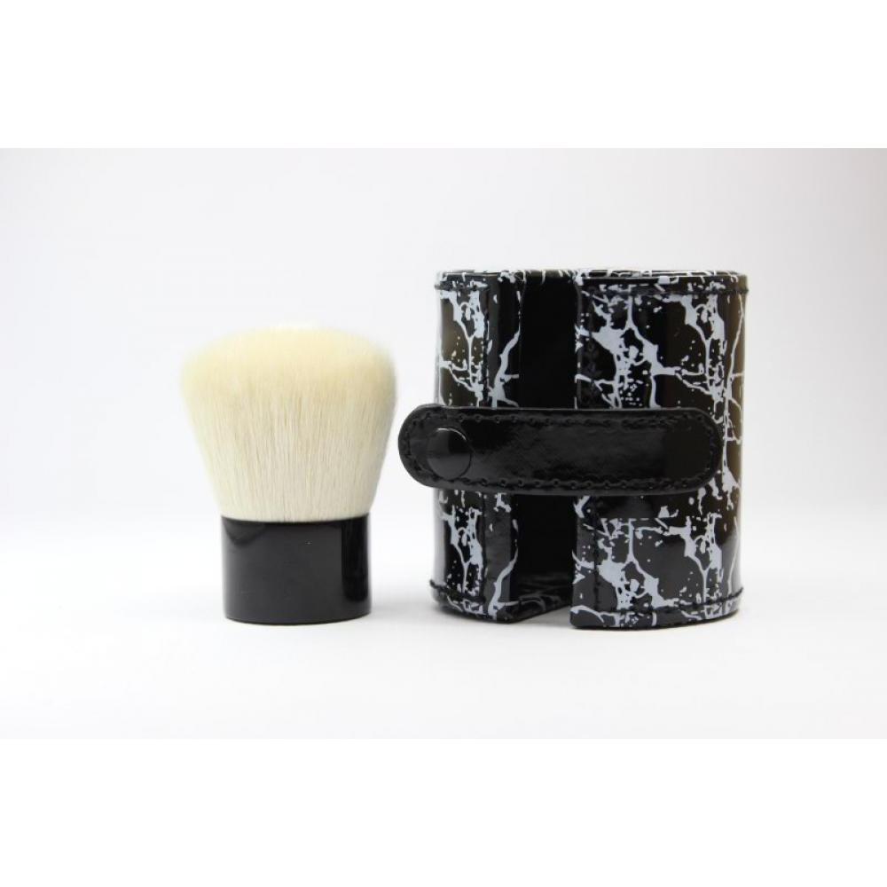 Купить Кисть кабуки натуральная - Make Up Me KAB-WHITE-TUBE Белая