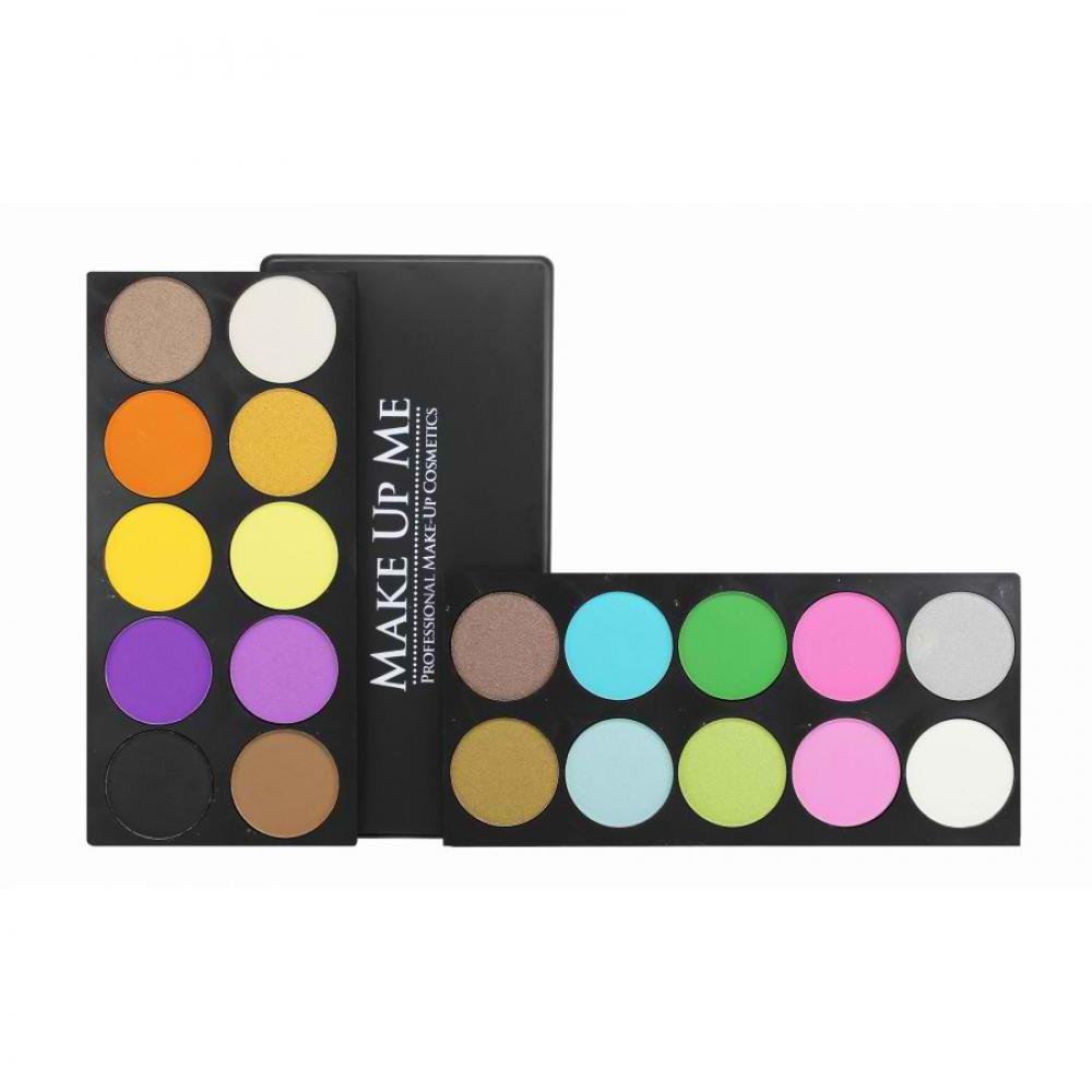 Купить Профессиональная палитра теней 20 цветов Make Up Me P20