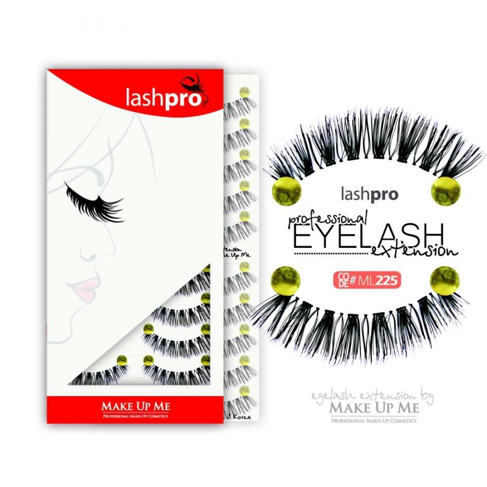 Купить Профессиональный набор ресниц 10 пар - Make Up Me LashPro ML225