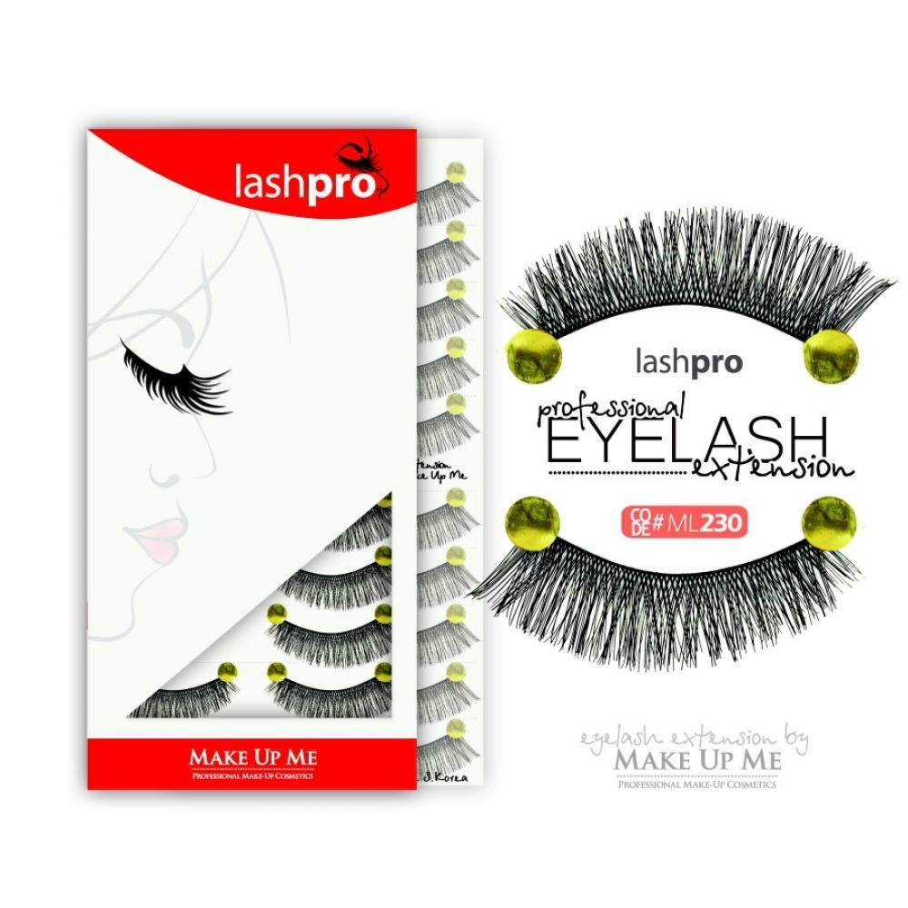 Купить Профессиональный набор ресниц 10 пар - Make Up Me LashPro ML230