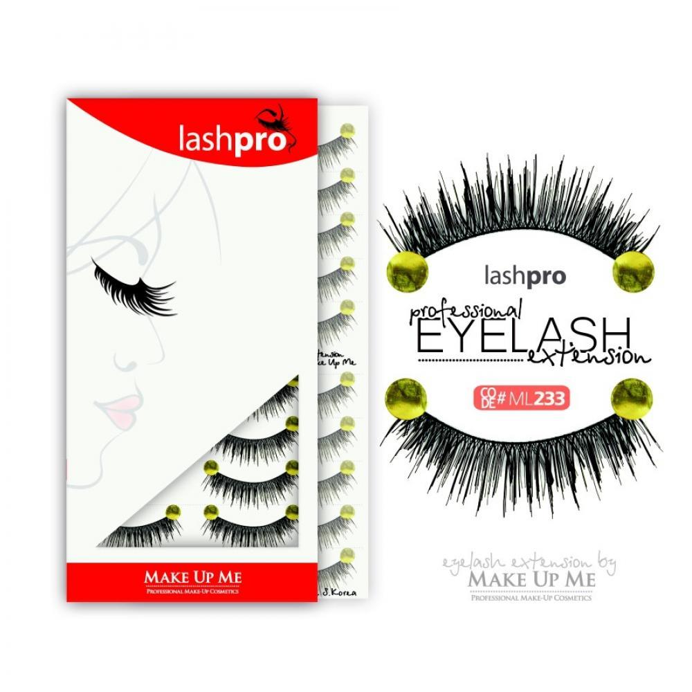 Купить Профессиональный набор ресниц 10 пар - Make Up Me LashPro ML233