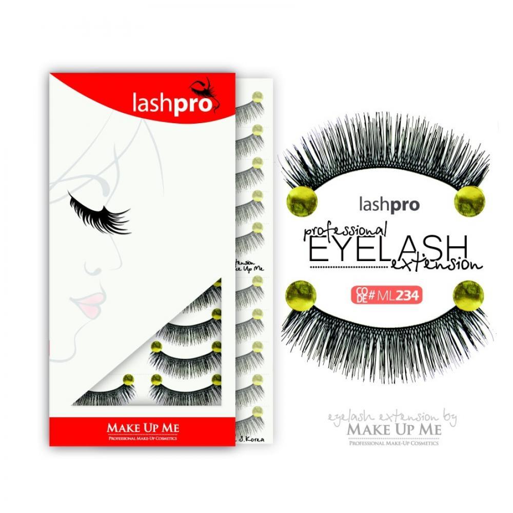 Купить Профессиональный набор ресниц 10 пар - Make Up Me LashPro ML234