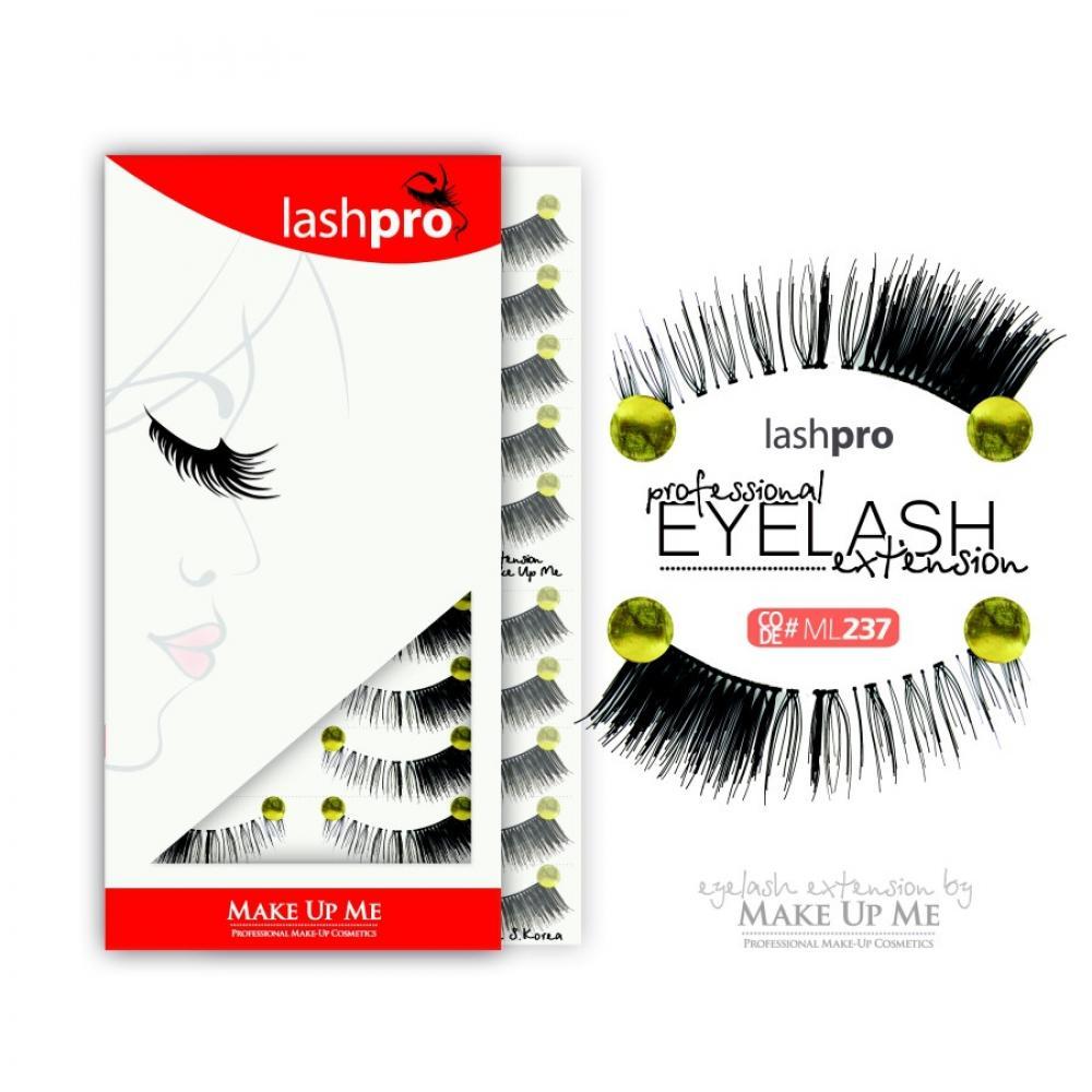 Купить Профессиональный набор ресниц 10 пар - Make Up Me LashPro ML237