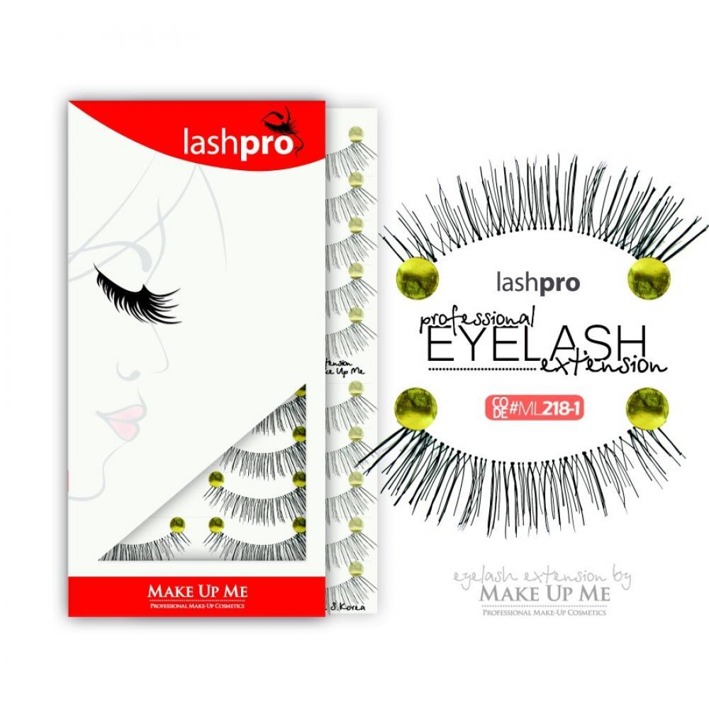 Купить Профессиональный набор ресниц 10 пар - Make Up Me LashPro ML218-1