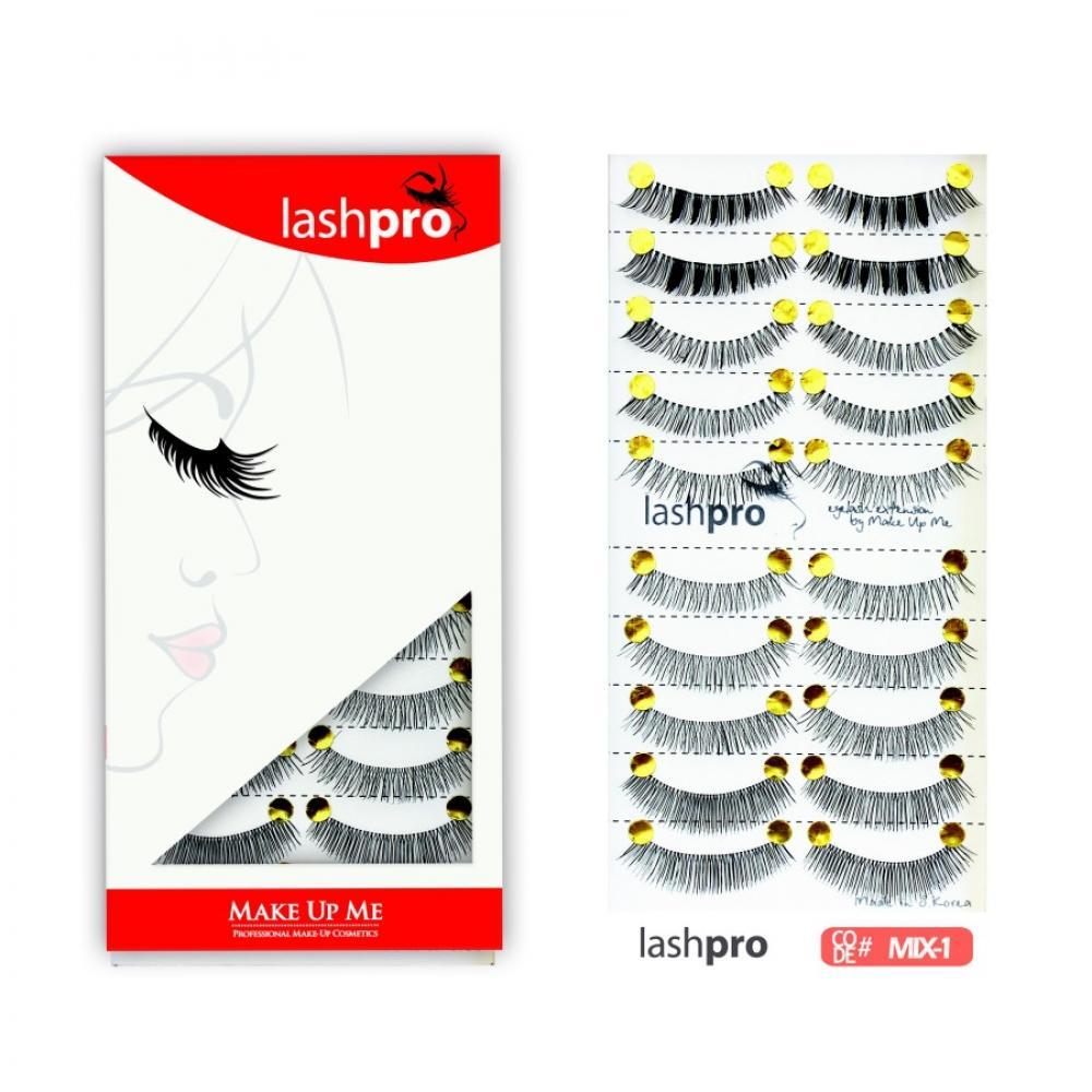 Купить Универсальный набор ресниц 5 видов 10 пар - Make Up Me LashPro MIX-1