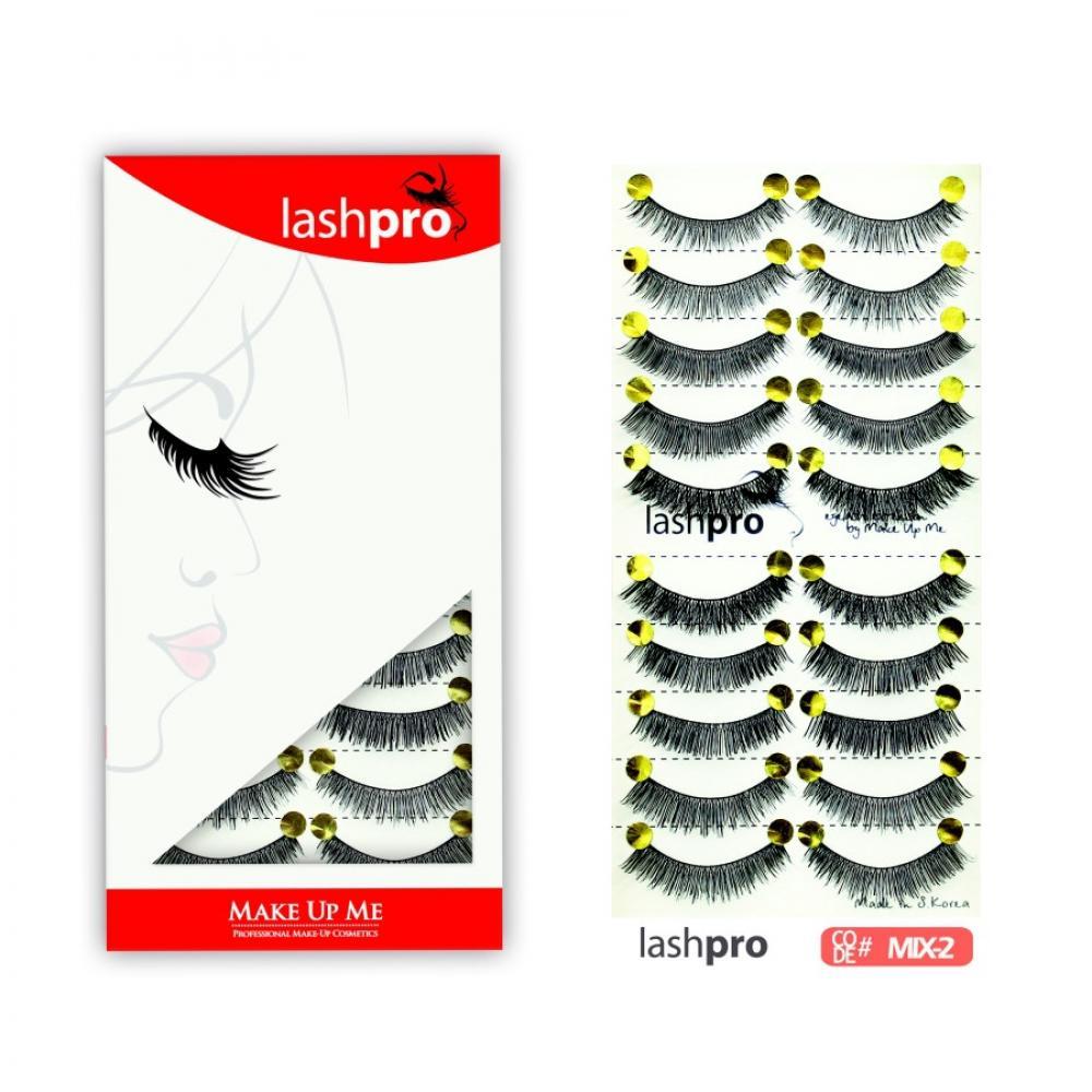 Купить Универсальный набор ресниц 5 видов 10 пар - Make Up Me LashPro MIX-2