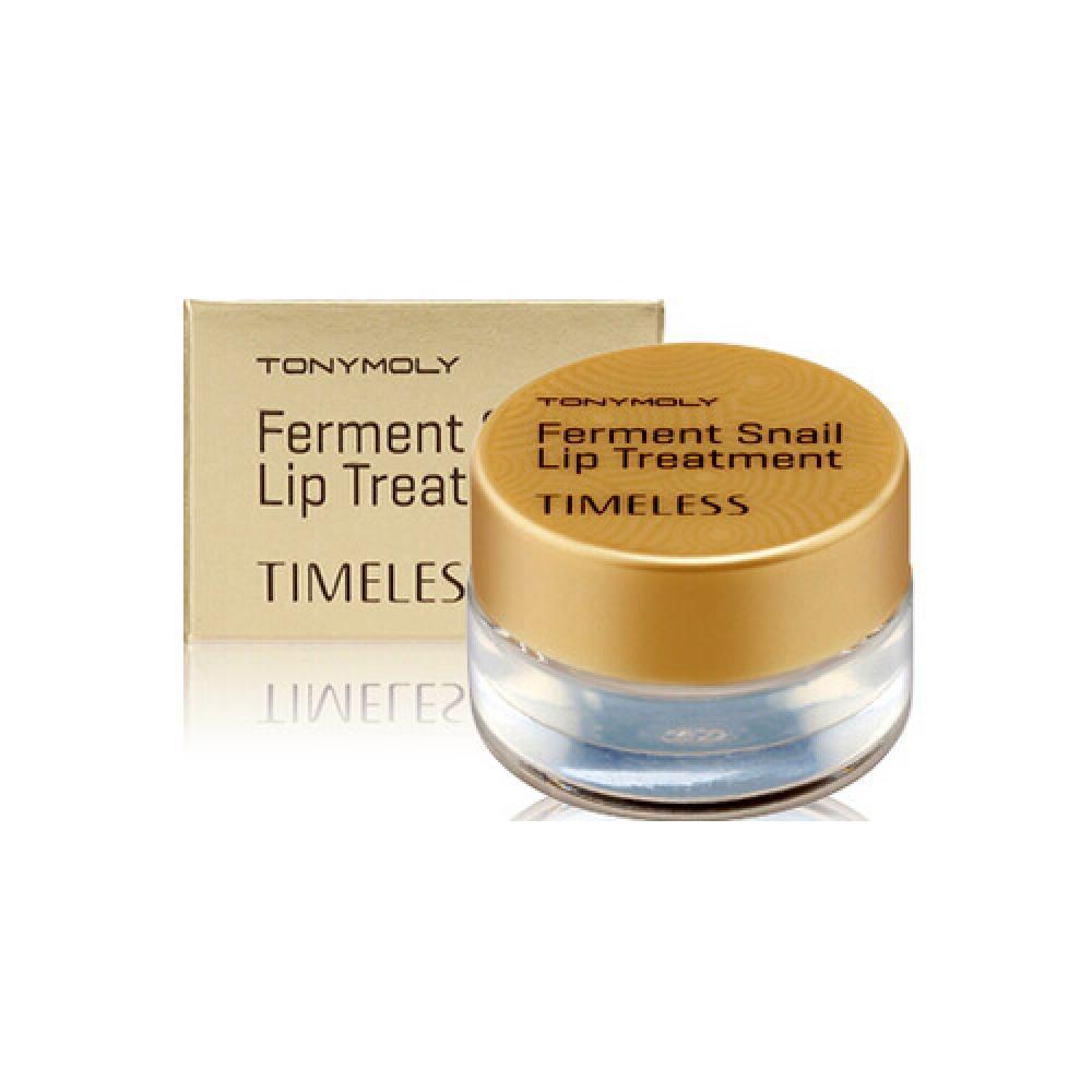Купить Бальзам для губ с улиточным экстрактом - Tony Moly Timeless Ferment Snail Lip Treatment