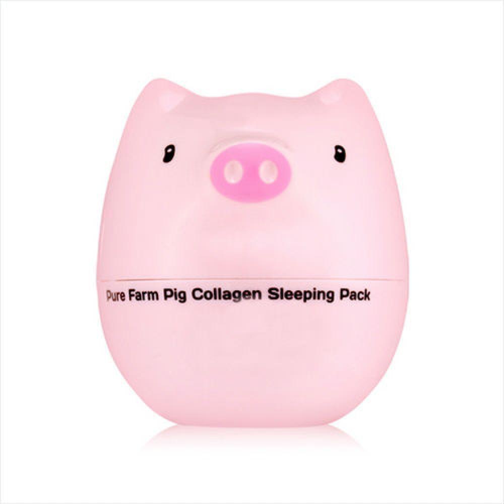 Купить Ночная маска с коллагеном - Tony Moly Pure Farm Pig Collagen Sleeping Pack