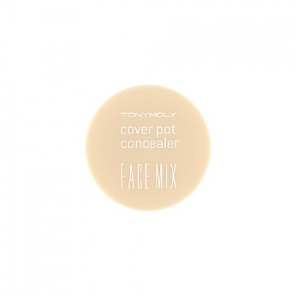 Купить Консилер шелковый - Tony Moly Face Mix Cover Pot Concealer