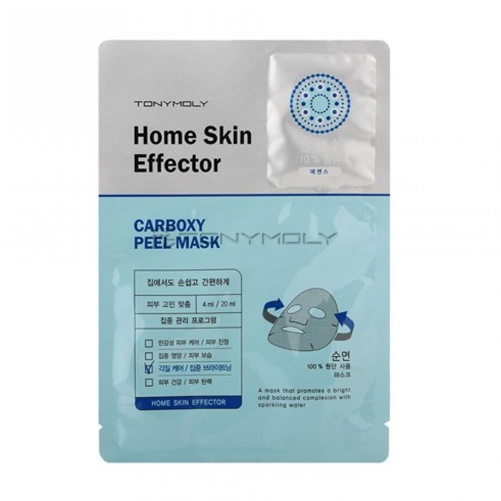 Купить Листовая маска Tony Moly Home Skin Mask Effector Carboxy Peel