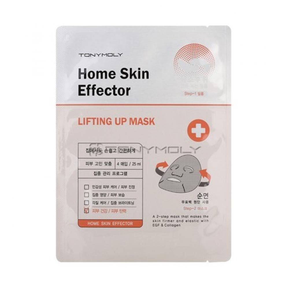 Купить Листовая маска Tony Moly Home Skin Mask Effector Lifting Up
