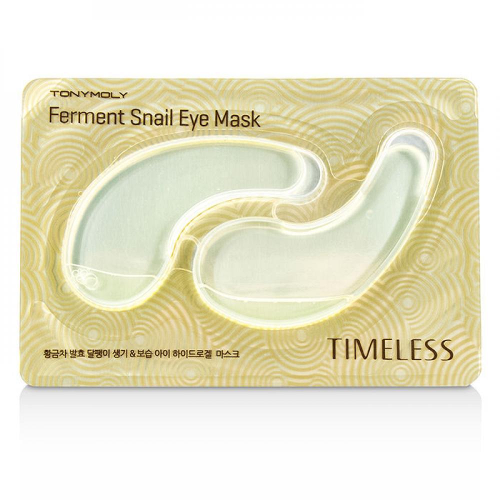 Купить Маска-патч с ферментированным экстрактом улитки для глаз - Tony Moly Timeless Ferment Snail Eye Mask