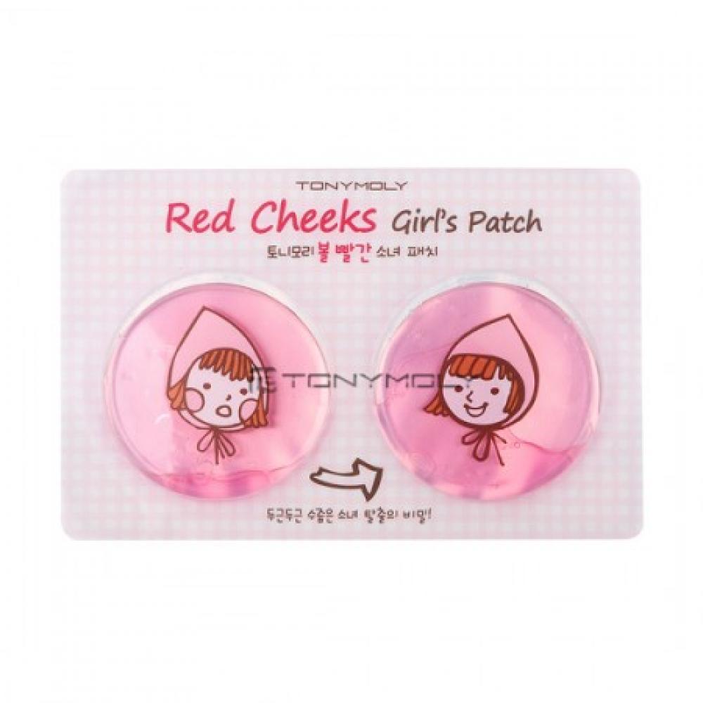 Купить Локальная гидрогелевая маска - Tony Moly Red Cheeks Girl's Patch