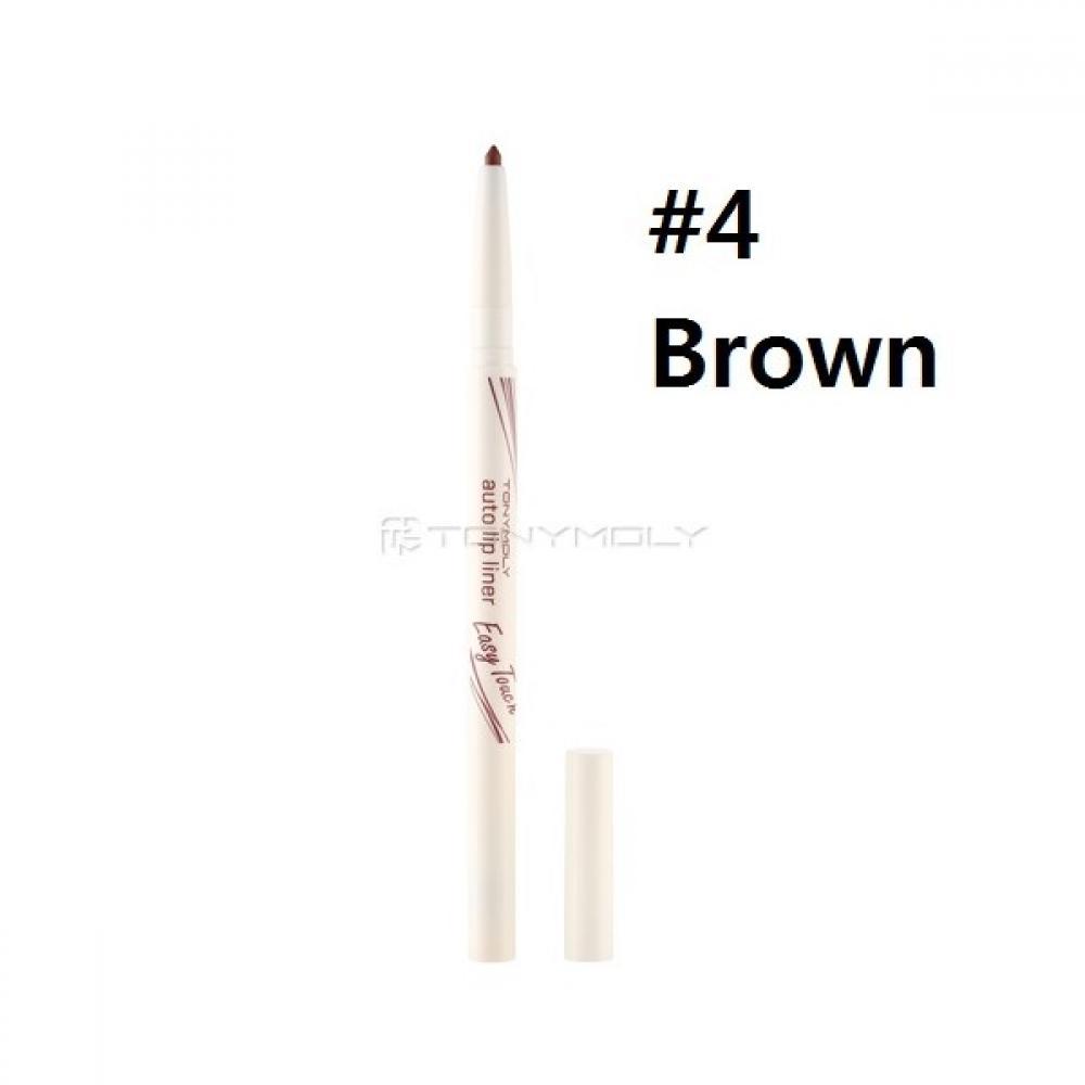 Купить Карандаш для губ Tony Moly Easy Touch Auto Lip liner 04 brown