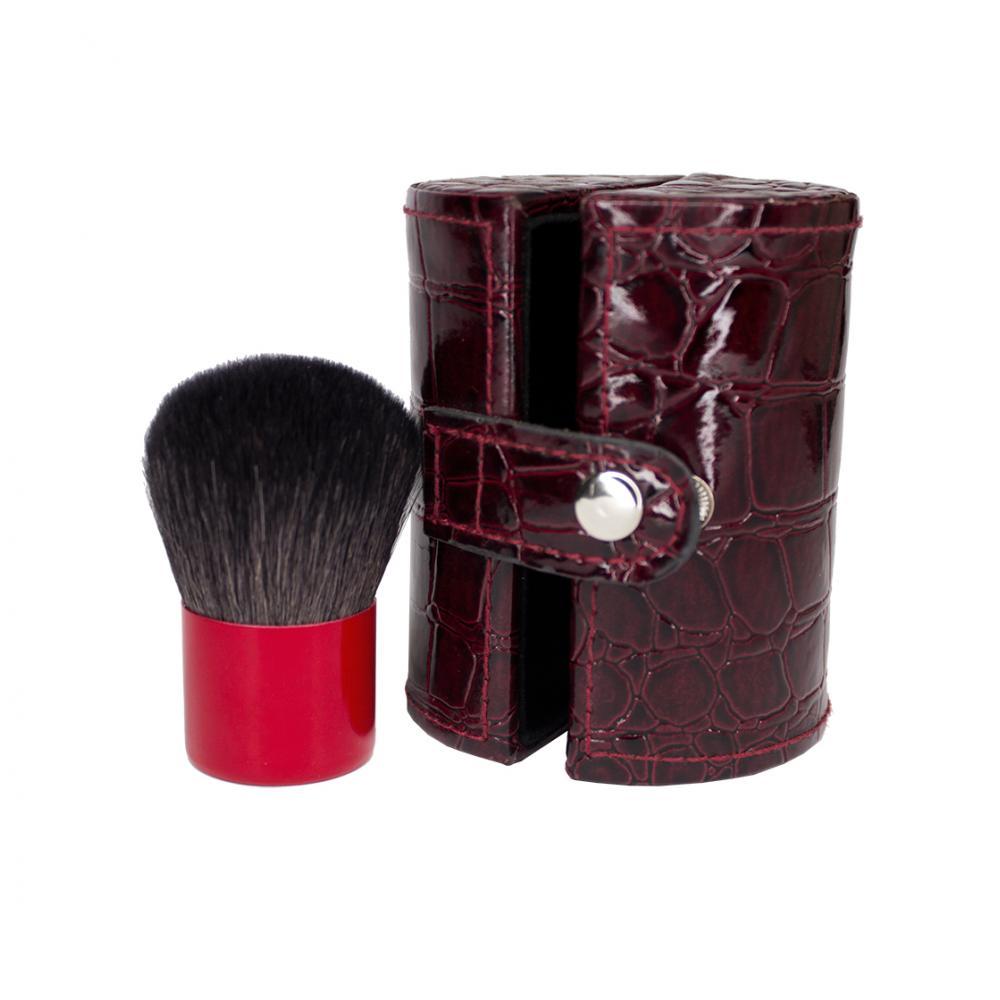 Купить Кисть кабуки натуральная - Make Up Me KAB-RED-TUBE Крокодил