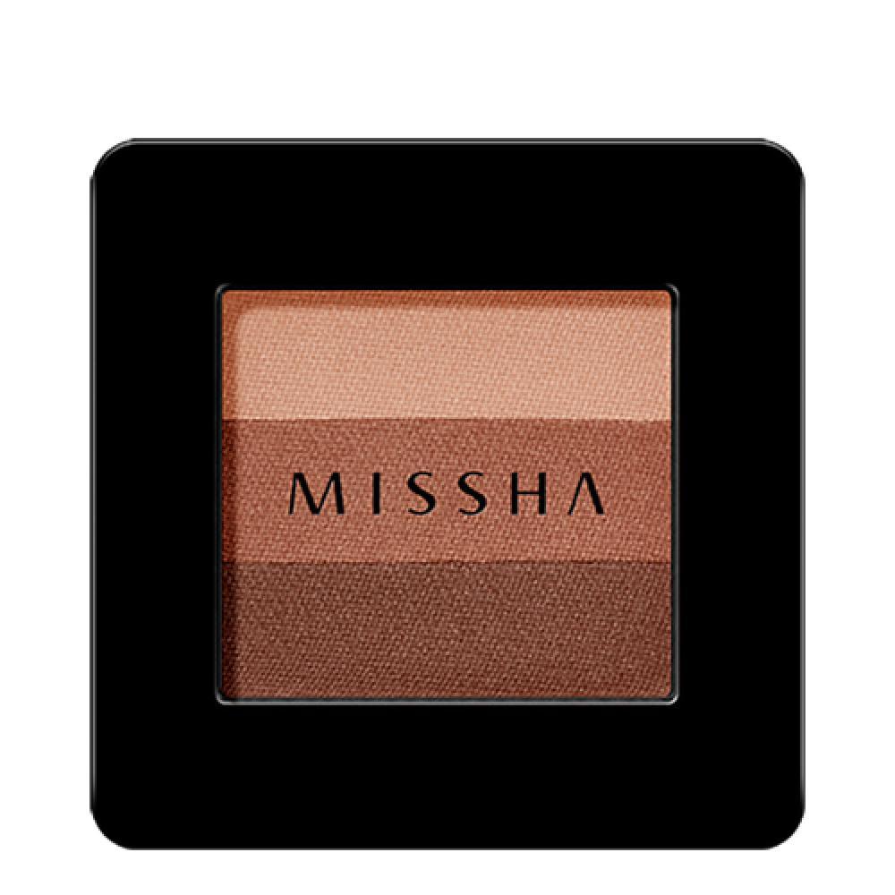 Купить Трехцветные тени для век - MISSHA Triple Shadow (No.13/Lady Milk Tea)