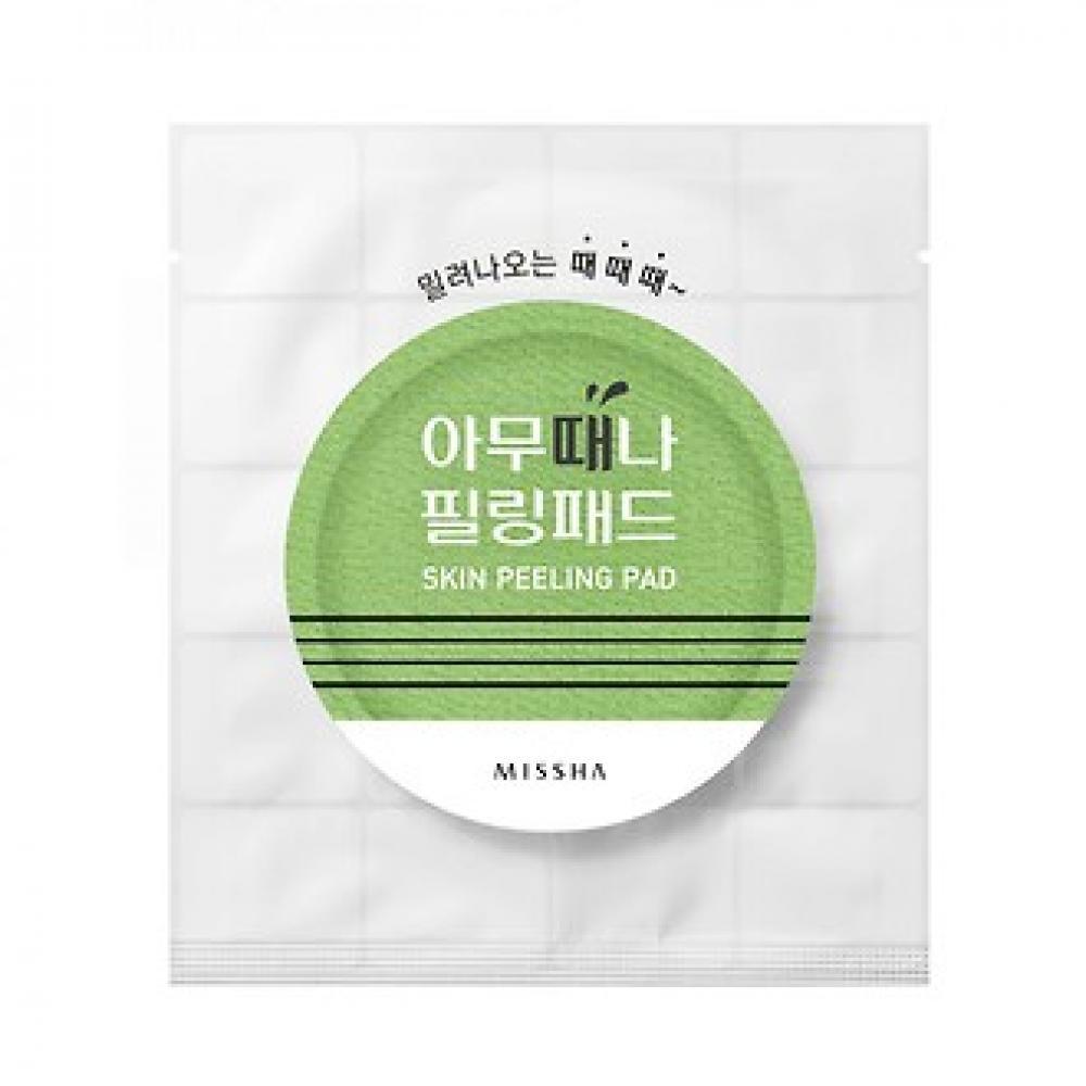 Купить Одноразовые гоммажные пилинг- диски - MISSHA Skin Peeling Pad