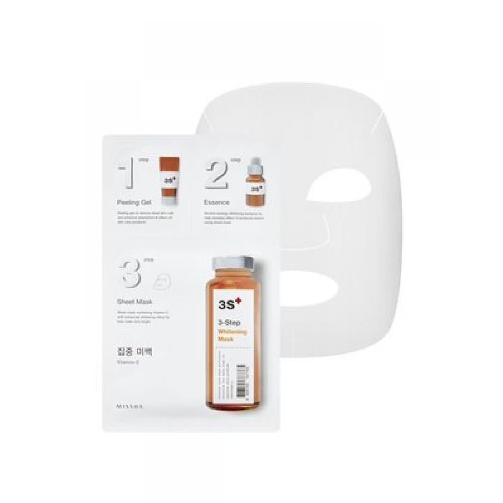 Купить Отбеливающая маска для лица 3-step Whitening Mask
