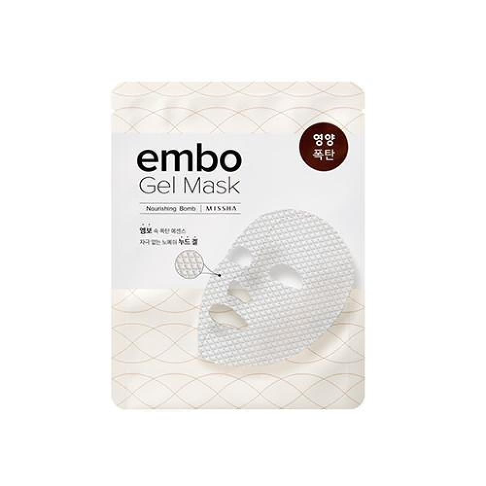 Купить Питательная маска для лица - MISSHA Embo Gel Mask (Nourishing-Bomb)