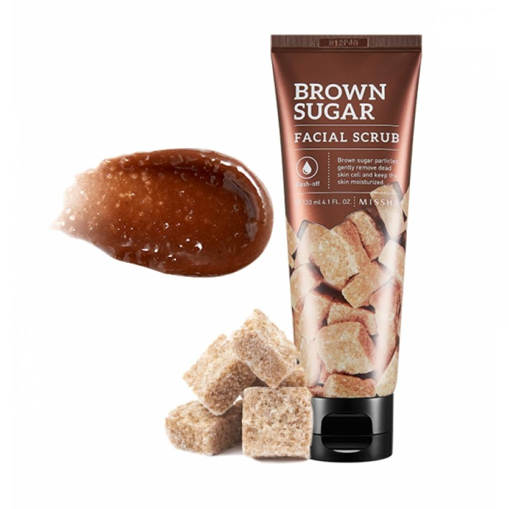 Купить Маска-скраб для лица - MISSHA Brown Sugar Facial Scrub