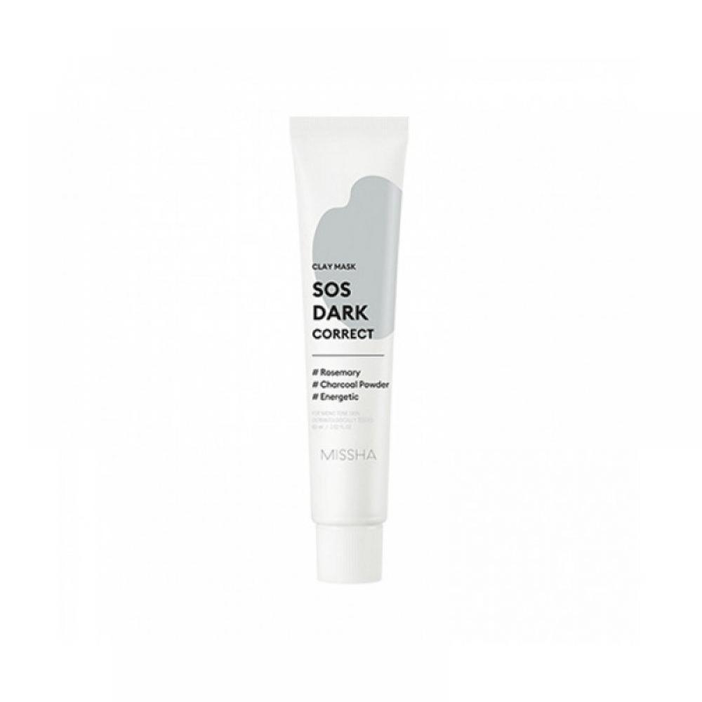 Купить Глиняная маска для очищения и улучшения тона кожи лица Missha SOS Dark Correct Clay Mask