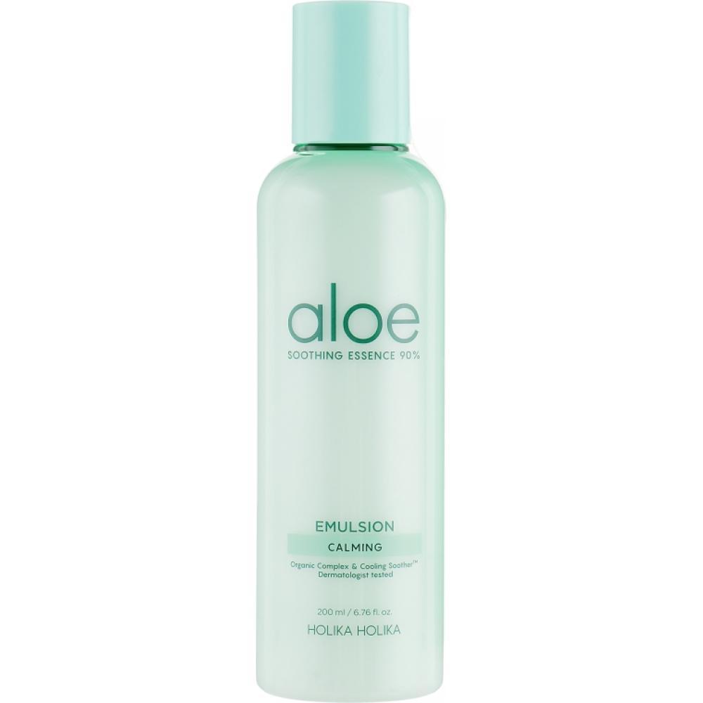 Купить Увлажняющая эмульсия для лица Holika Holika Aloe Soothing Essence 90% Emulsion Calming
